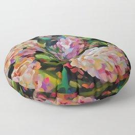 Hydrangea Blossom Floor Pillow