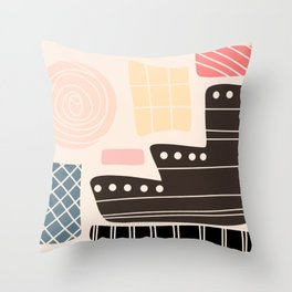 Home Abstract Throw Pillow