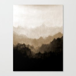 Old Mountain Canvas Print