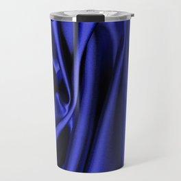 Beautiful Blue Christmas Travel Mug