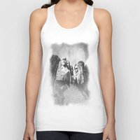 rushmore Tank Tops featuring Rushmore at Night by Peaky40