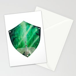 Hylian Shield (Master Sword in the Lost Woods) Stationery Cards