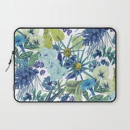 FLOWERPOWER (BLUE) Laptop Sleeve