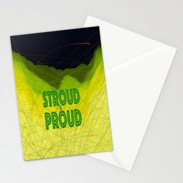 Stroud & Proud - Green is The New Black Stationery Cards