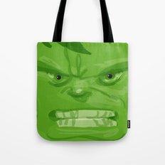 Post it portrait: The Hulk Tote Bag