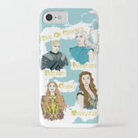daenerys iPhone & iPod Cases featuring Game Of Thrones  by JessicaJaneIllustration