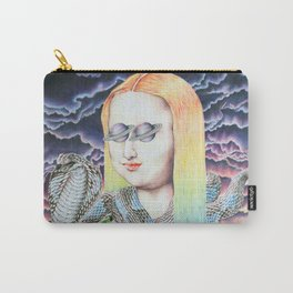 Mona Lisa and the Love Snake Live to Party Carry-All Pouch