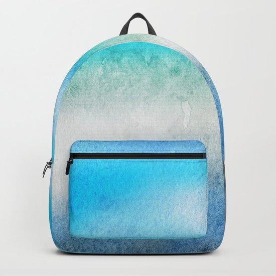 Tropical sea #7 Backpack