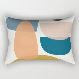 Free Abstract Shapes I Rectangular Pillow