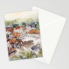 Old Marketplace in Kazimierz Dolny   Poland Stationery Cards