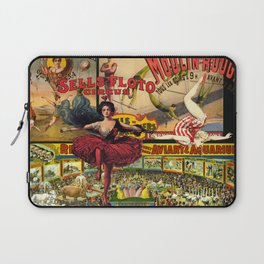 The Circus is in Town Laptop Sleeve