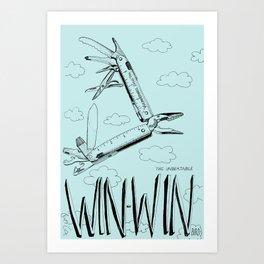 Win Win Bird Art Print