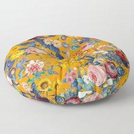 Summer Botanical Garden IX Floor Pillow
