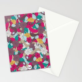 out mini garden Stationery Cards