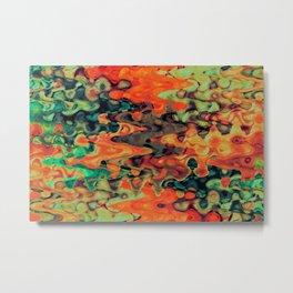 Atomic Fruit Metal Print