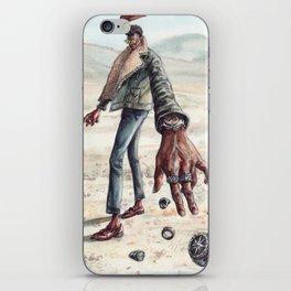 The Desert Man of Many Rings iPhone Skin