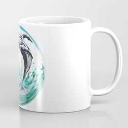 Whale in the bubble Coffee Mug