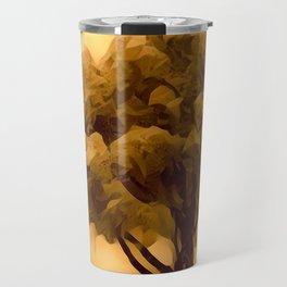 Sepia Juniper Tree by CheyAnne Sexton Travel Mug