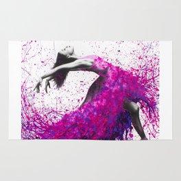 Hot Magenta Dance Rug