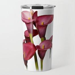 Purple Calla Lilies Travel Mug