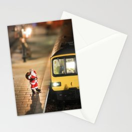 Santa goes to Exmouth Stationery Cards