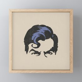 Man of Steel Framed Mini Art Print