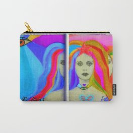 Rainbow Reflections of Fairouz by HaBebe KarenBE Carry-All Pouch