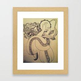 The Riq Player Framed Art Print