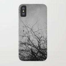Branches and Bird Slim Case iPhone X