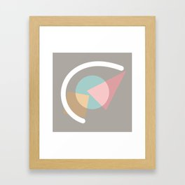 Imperfect Geometries #1 Framed Art Print