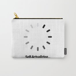 Self-Actualizing Carry-All Pouch