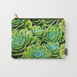 Succulent Geometries Carry-All Pouch