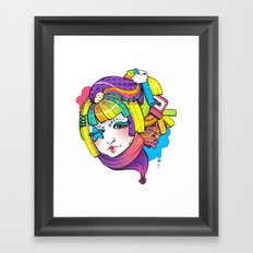 Starry Eyed Framed Art Print