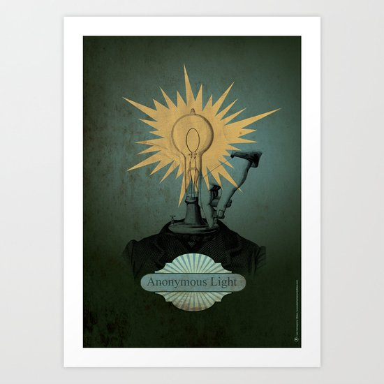 Anonymous Light Art Print