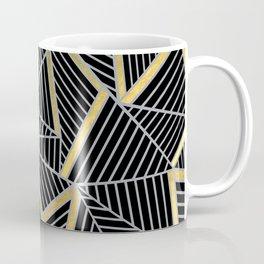 Ab 2 Silver and Gold Coffee Mug