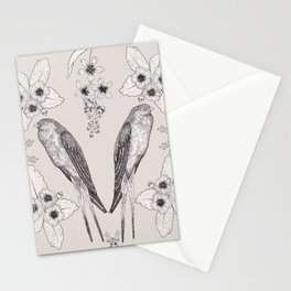 Summer Swallow Stationery Cards