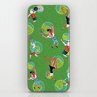 tennis iPhone & iPod Skins featuring Tennis by misslin