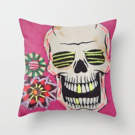 If You're Happy And You Know It..Clap Your Bones Throw Pillow