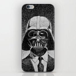 Darth Vader portrait #2 iPhone Skin