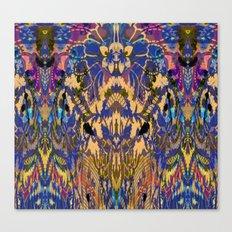Laced Purple Canvas Print