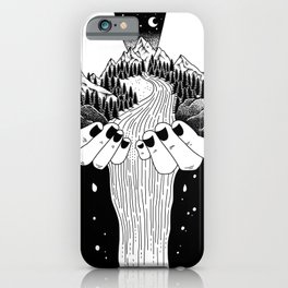The world in my hand iPhone Case