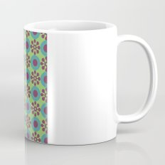 Retro Modern Flower Power Mug