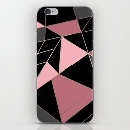Abstraction . Geometric pattern 3 iPhone Skin
