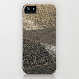 concrete sunshine triangle arrow iPhone Case