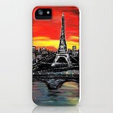 Red Sky over Paris Slim Case iPhone (5, 5s)
