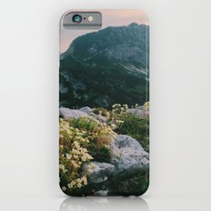 Mountain flowers at sunrise iPhone 6s Slim Case