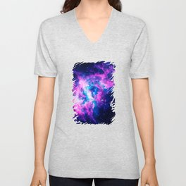 Dream Of Nebula Galaxy Unisex V-Neck