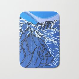 Pemberton Ice Field Bath Mat