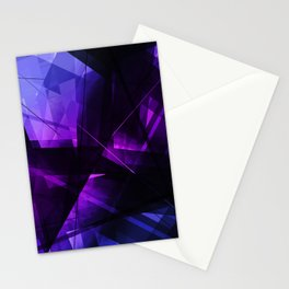 Vanquish - Geometric Abstract Art Stationery Cards
