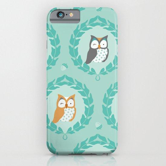 Sweet Owlies - Dusk iPhone & iPod Case